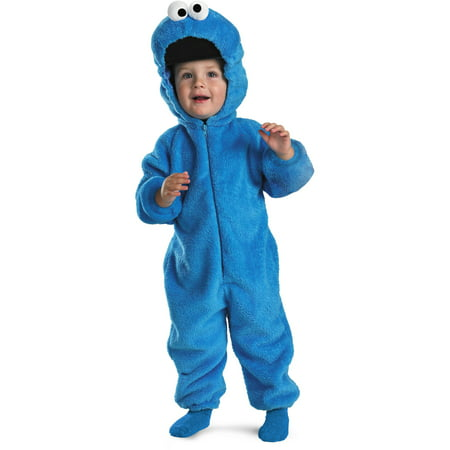 Sesame Street Baby Cookie Monster Plush Costume (Monster Baby Halloween Costume)