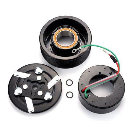 Honda Pressure Clutch Kit (A/C Compressor Clutch Kit Pulley Bearing Coil Plate For Honda CR-V CRV 02-06 )