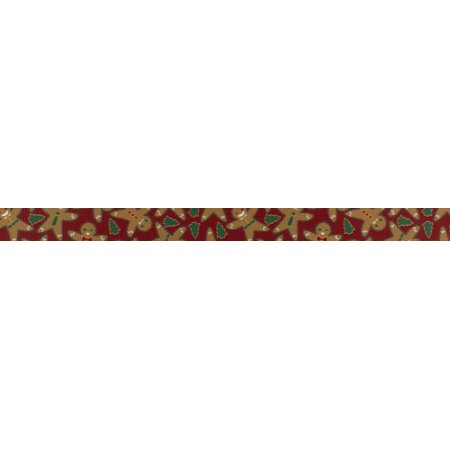 Country Brook Design | 1/2 Inch Gingerbread Photo Quality Polyester