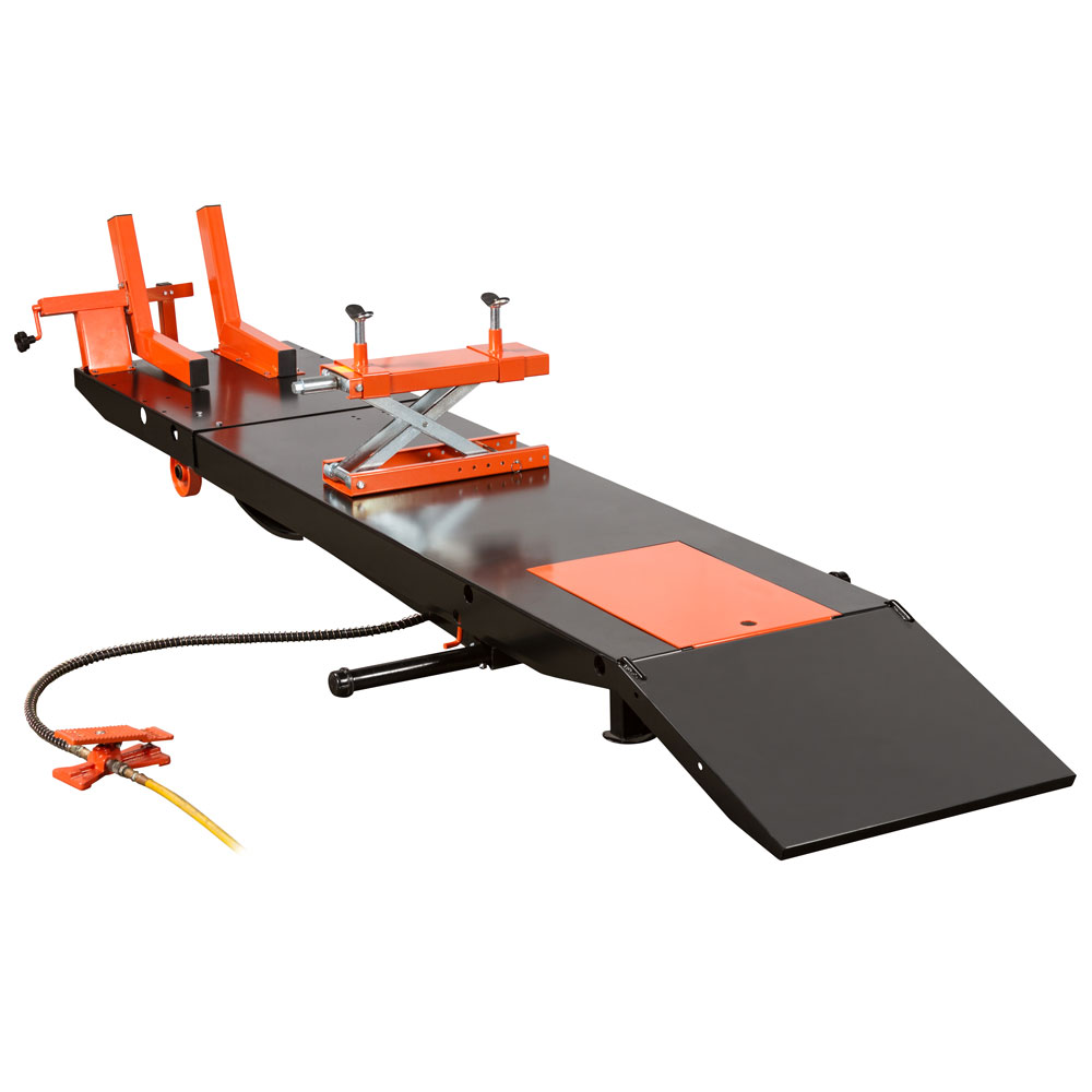 Air OP Heavy Duty ProLift 1,500 lb Motorcycle Scissor Lift Table
