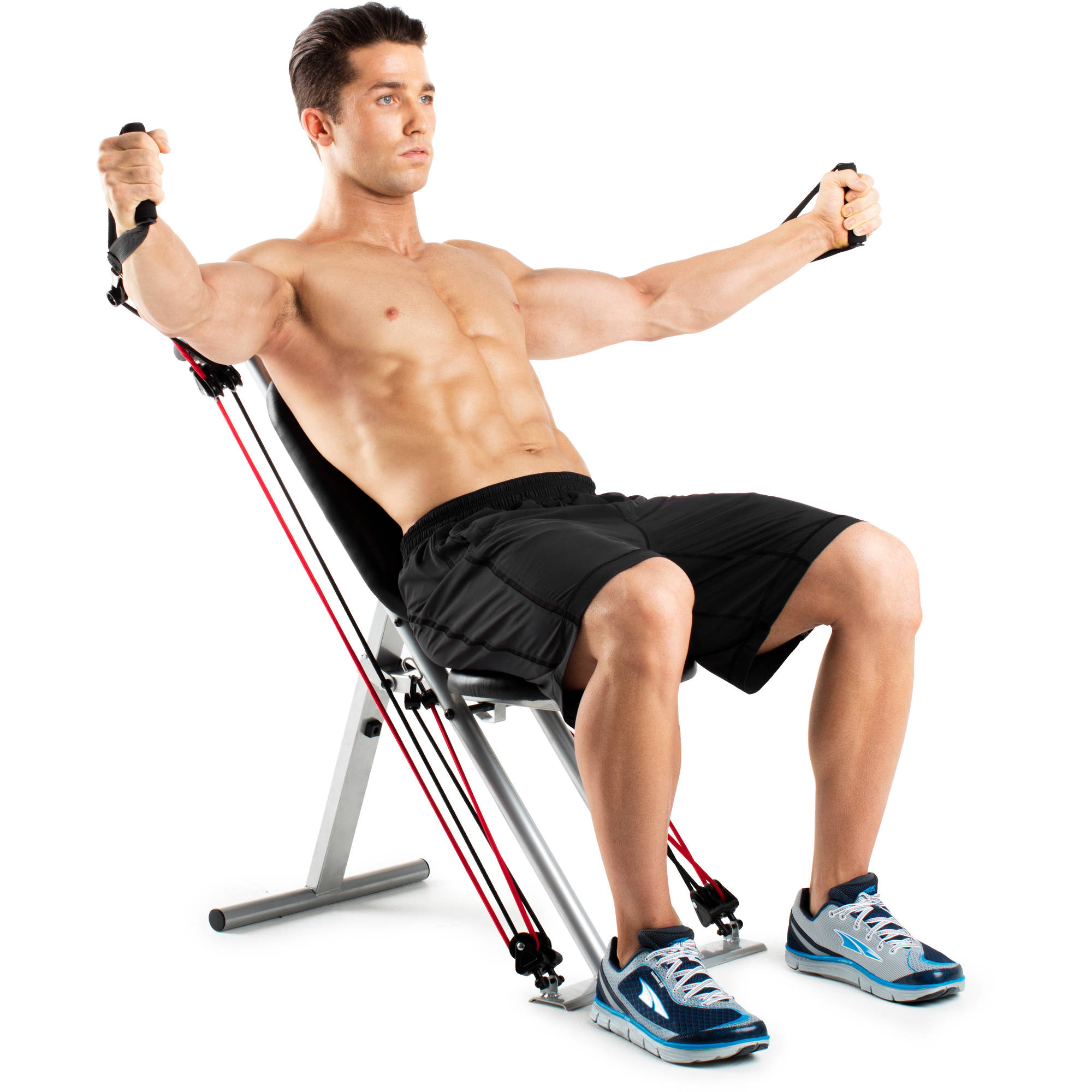 Easy Home Exercise Equipment: Weider Pro 256 Bench/Combo Set