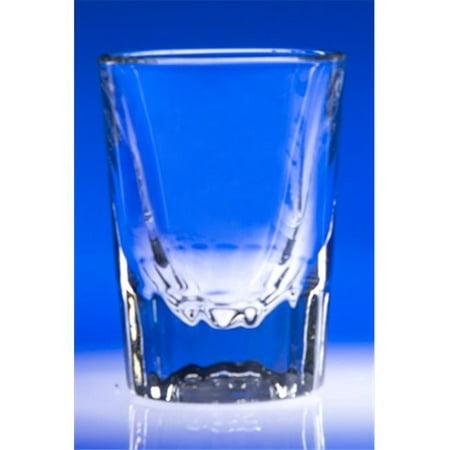 J. Charles Crystalworks 512 Fluted Shot Glass Set of 2 - image 1 of 1