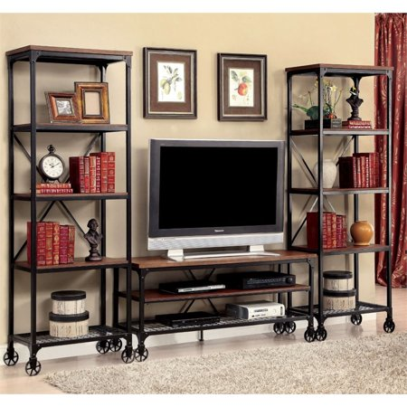 Furniture of America Engley 3 Piece 54″ Entertainment Centre