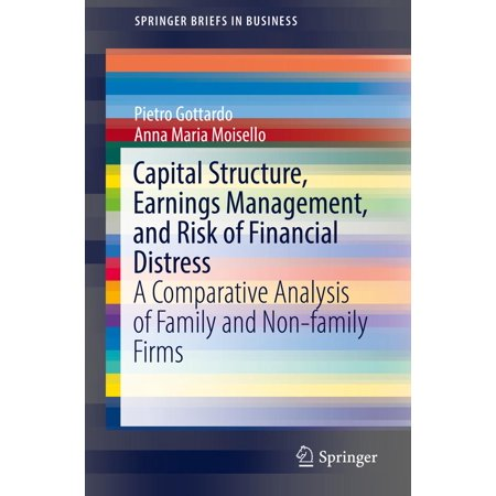 Capital Structure, Earnings Management, and Risk of Financial Distress - (Theories Of Capital Structure In Financial Management)