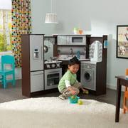 KidKraft Ultimate Corner Play Kitchen with Lights & Sounds - Espresso
