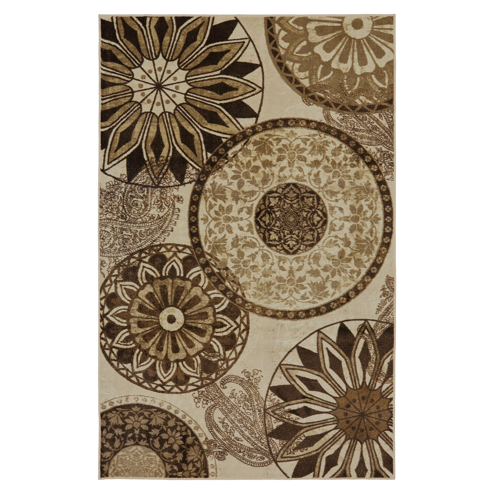 Mohawk Home New Wave Inspired India Neutral Area Rug