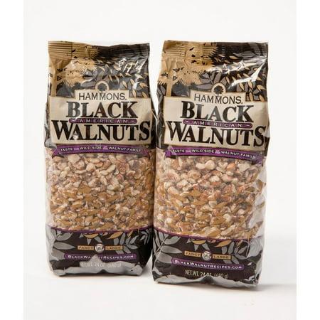 Thick American Black Walnut - Hammons Black Walnuts - 24 oz. - 2 ct.