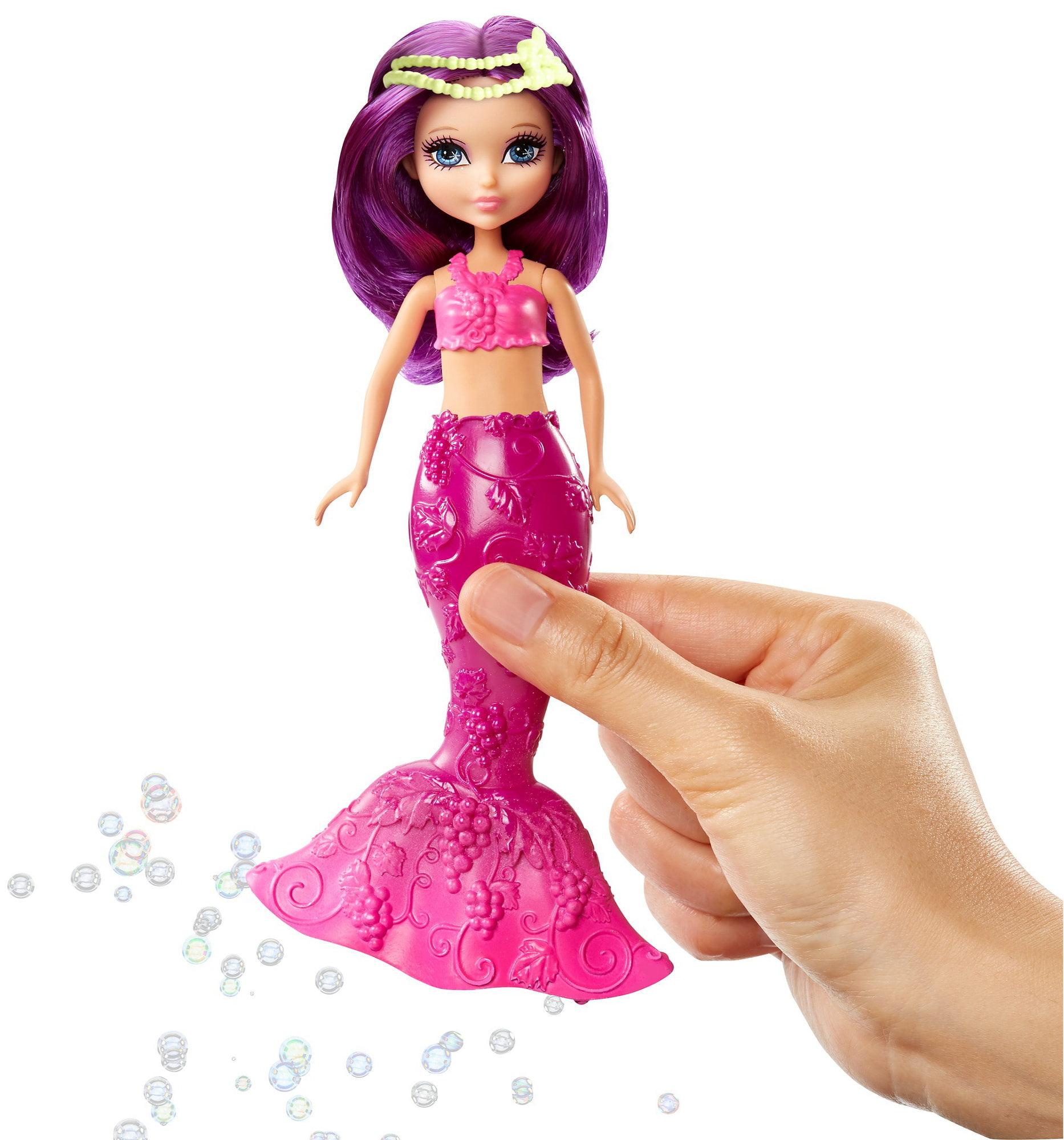Barbie Dreamtopia Bubbles �N Fun Purple Mermaid Doll by MATTEL INC.