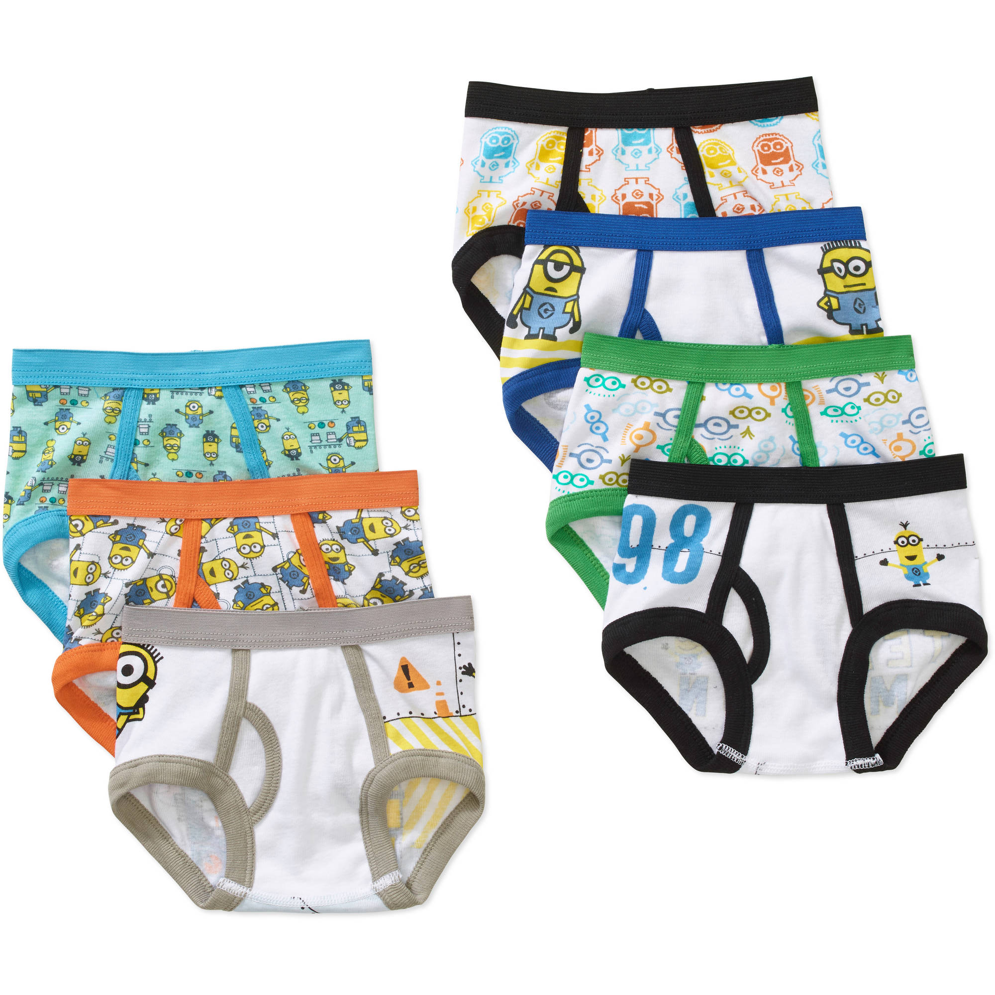 Minions Boys Underwear Briefs Despicable Me 5 Count