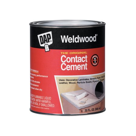 Contact Cement - DAP Weldwood Original Contact Cement, 32 oz