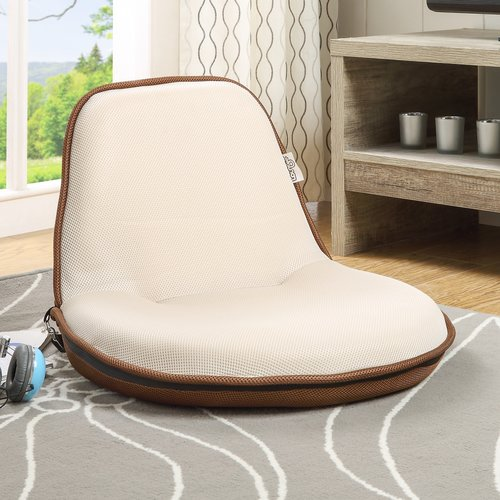 Inspired Home Co. Quickchair Loungie Indoor/Outdoor Portable Multiuse Folding Stadium Seat