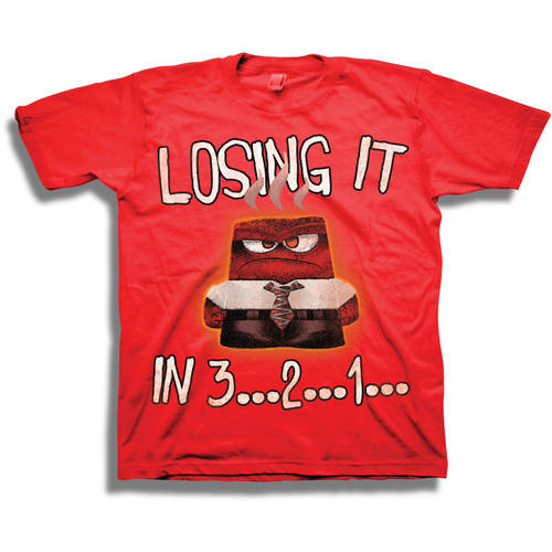 "Disney Inside Out ""Losing It"" Boys Short Sleeve Graphic Tee"
