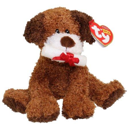 TY Beanie Baby - HONOR ROLL the Graduation Dog (No Hat Version) (5.5 - Graduation Dog