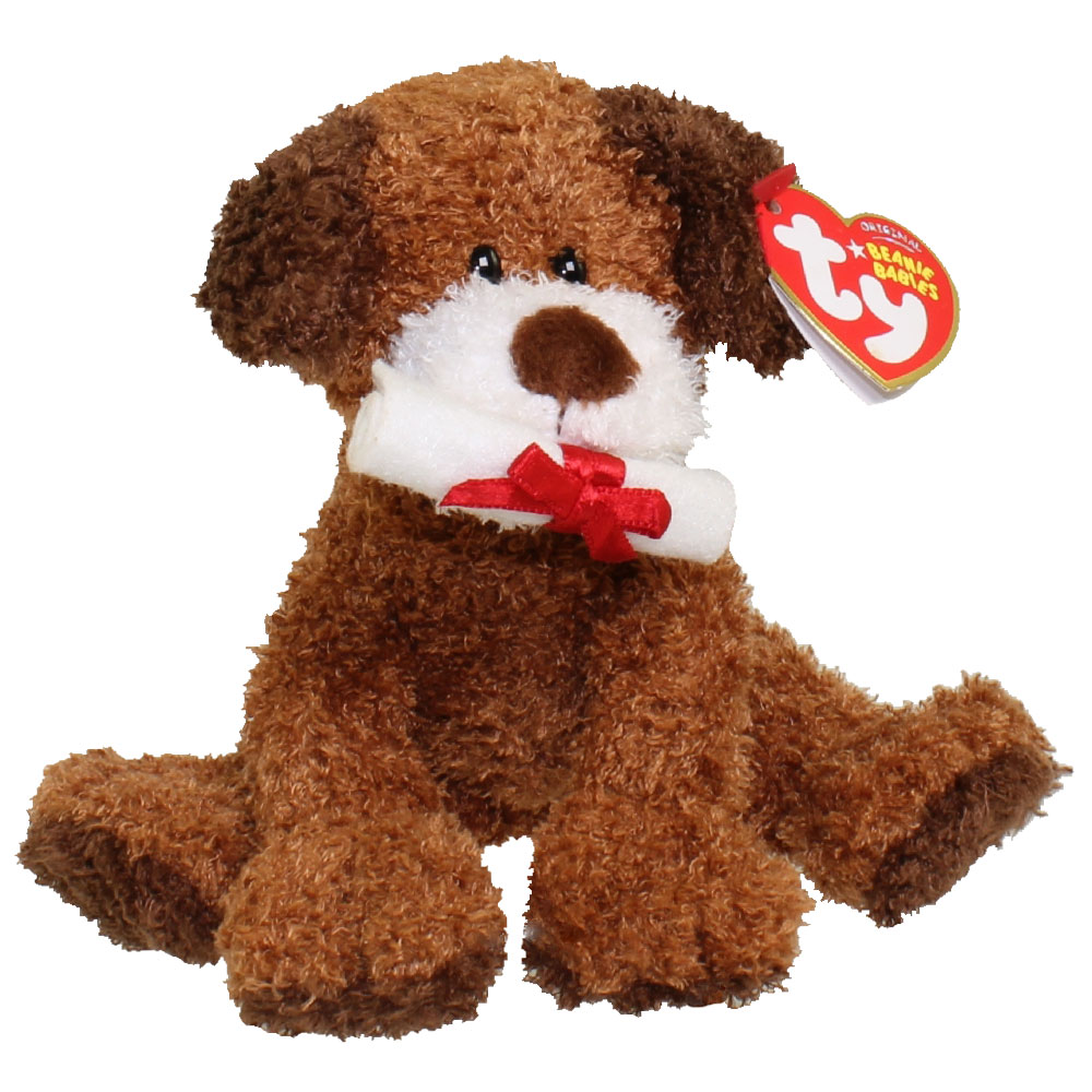 TY Beanie Baby - HONOR ROLL the Graduation Dog (No Hat Version) (5.5 inch)