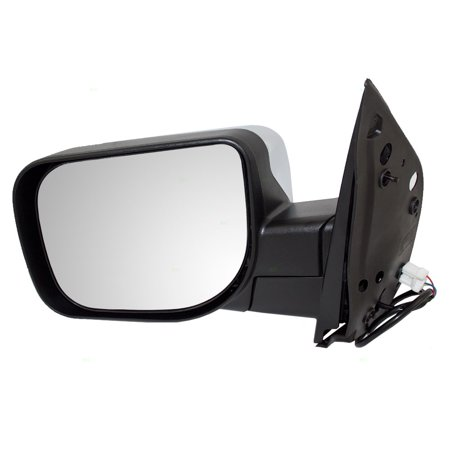 - Drivers Power Side View Mirror w/ Chrome Cover Replacement for Infiniti QX56 Nissan Armada Titan 96302-ZR20A