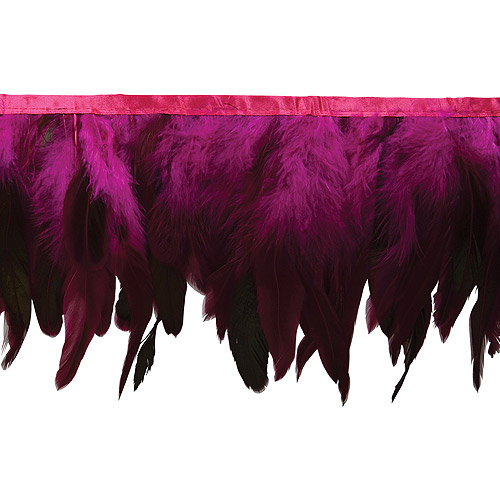 "Fionna Feather Fringe Trim, 6""W, 5 yds"