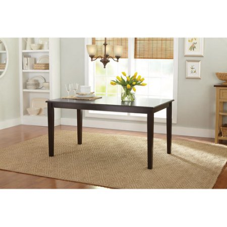 Better Homes and Gardens Bankston Dining Table, Mocha by Generic