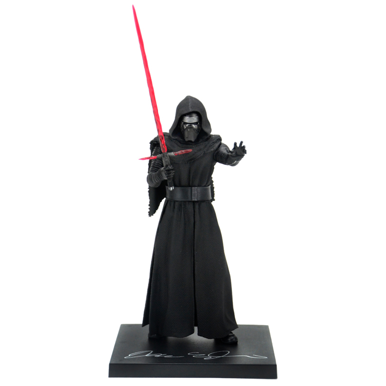 Adam Driver Autographed Star Wars: The Force Awakens Kylo Ren Statue