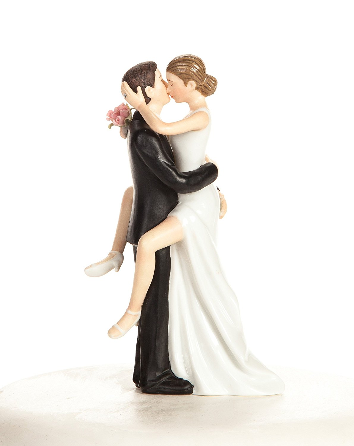 Funny Sexy Wedding Cake Topper With Bride And Groom Fun Sexy