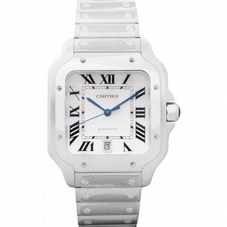 Cartier Cartier Santos Silvered Opaline Dial Men's Watch WSSA0018