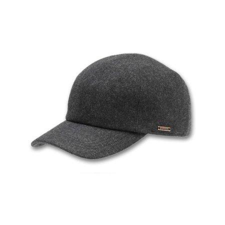 080064d54bb Wigens - Men s Wool Baseball Cap with Earflaps - Walmart.com