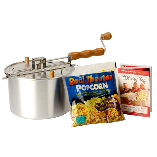 Wabash Valley Farms Whirley Pop Stovetop Popcorn Popper