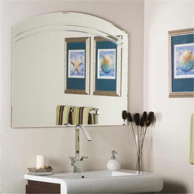 Frameless Wall Mirror decor wonderland ssm1065 angel large frameless wall mirror