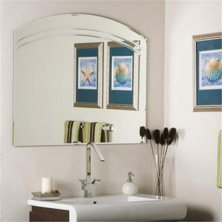 Decor Wonderland Ssm1065 Angel Large Frameless Wall Mirror