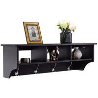 3 Sizes 7 Colors Wall Storage Shelves Quantity Discount Wooden Corner Shelf
