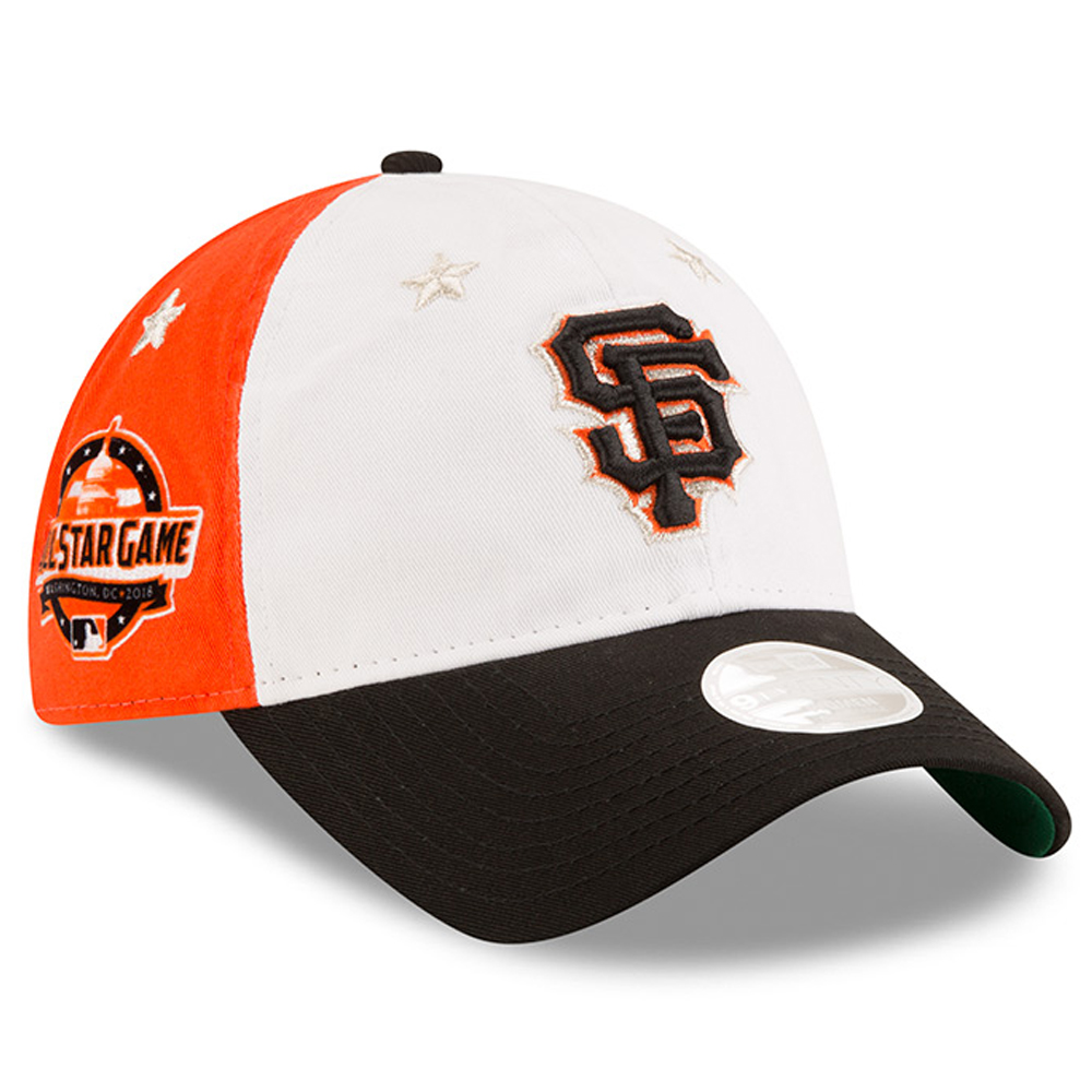 wholesale dealer d2895 ae2ca ... shop san francisco giants new era womens 2018 mlb all star game 9twenty  adjustable hat 63ccb
