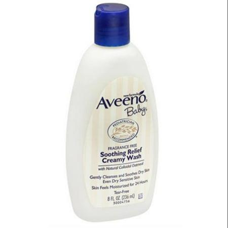 Aveeno bébé sans parfum Apaise Crème nettoyante (8 oz pack de 3)
