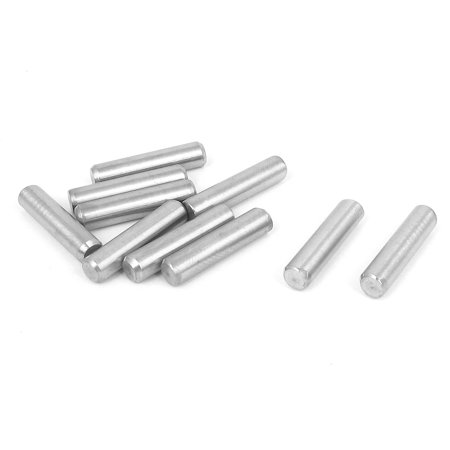 5mmx22mm 304 Stainless Steel Parallel Dowel Pins Fastener Elements 10pcs - image 1 of 1