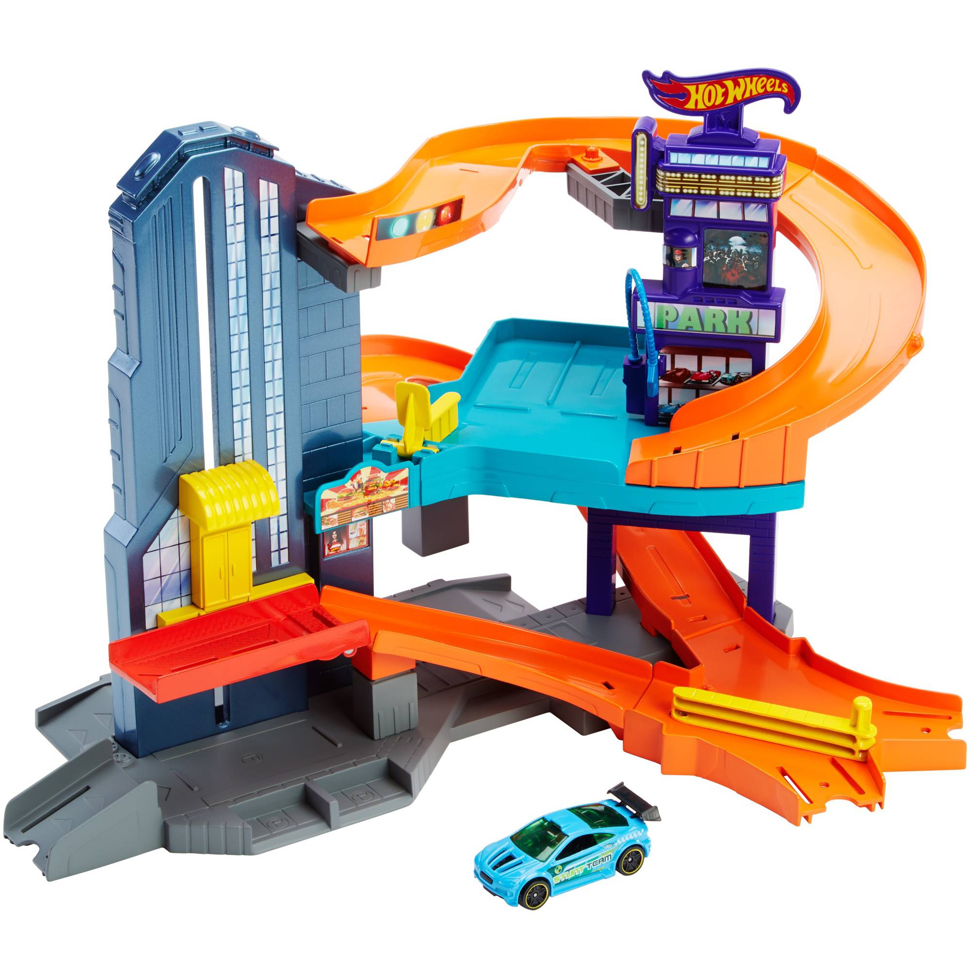 Hot Wheels Speedtropolis Trackset