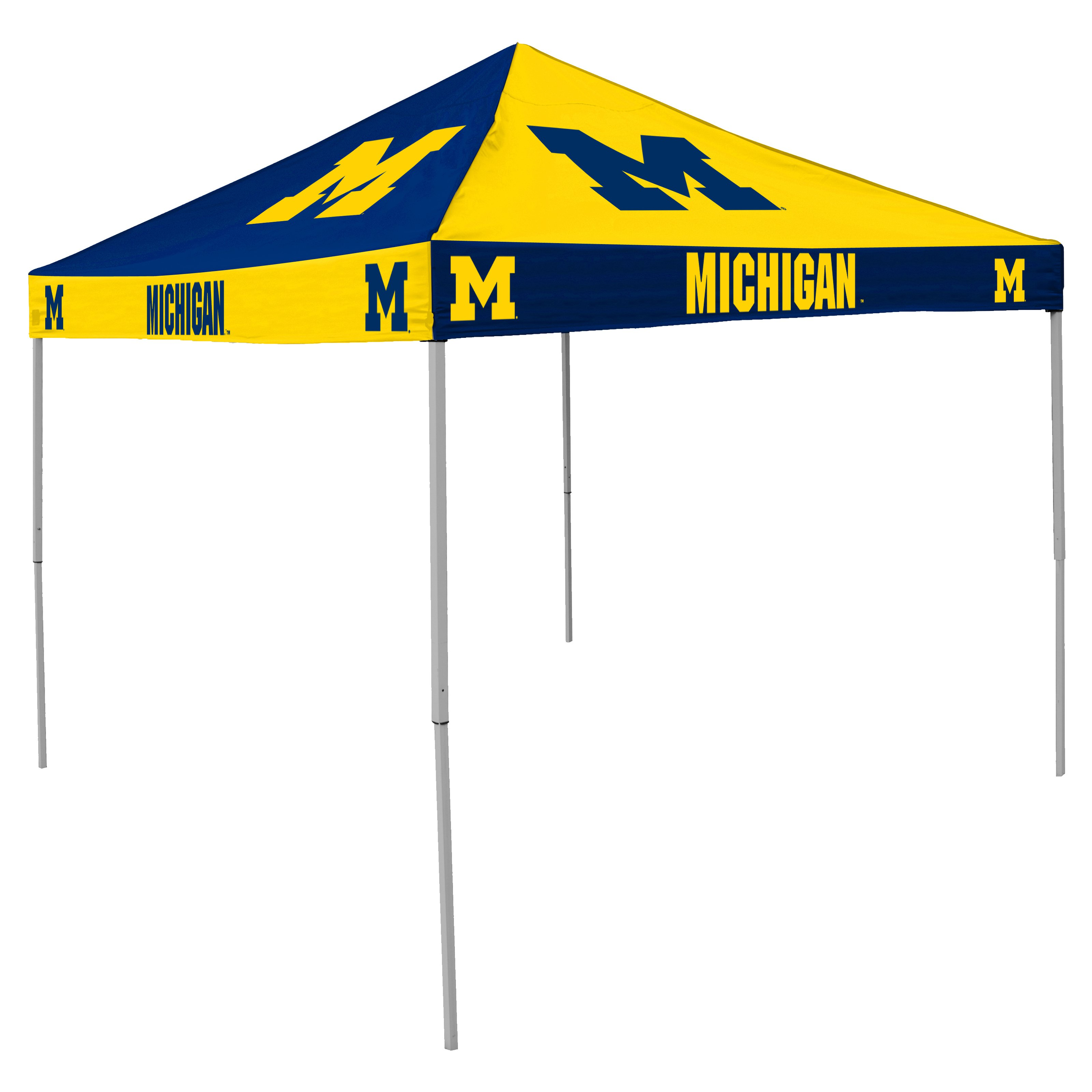 Logo Chair NCAA Pinwheel 9 x 9 Pop-Up Canopy