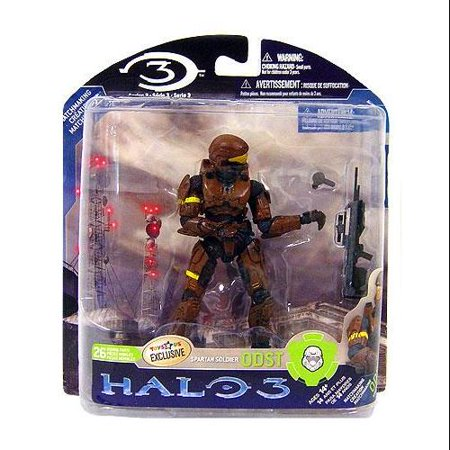 McFarlane Halo Series 3 Spartan Soldier ODST Action Figure [Brown]](Super Soldier From Halo)