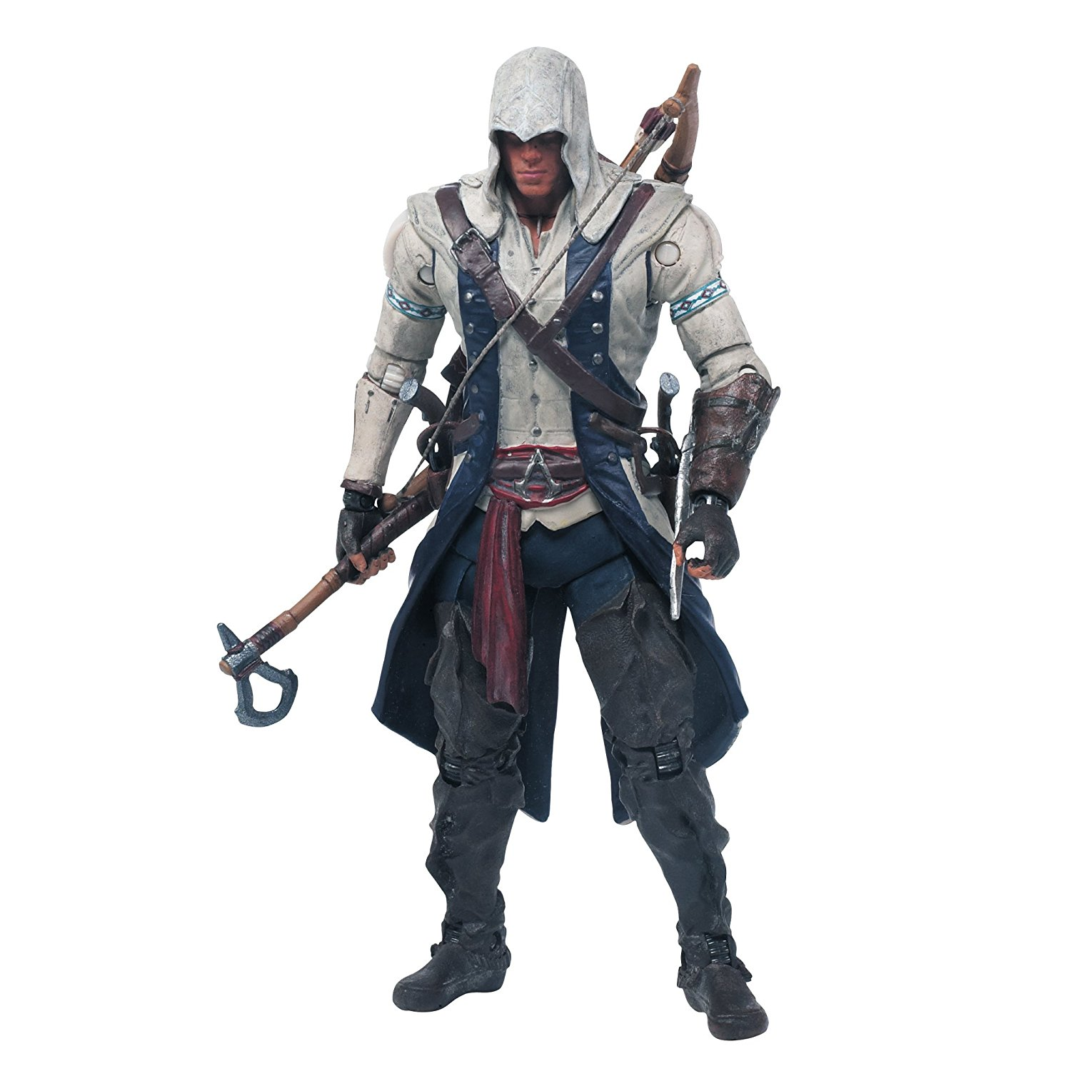 Toys Assassin's Creed Connor Action Figure, Genuine Haytham 7Inch Pony Funko Pistols Eagle 10 Hair AC 12Inches III Creed Variant POP 1 2.., By McFarlane