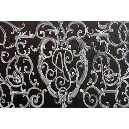 Ironwork Fence Fabric Placemat - image 1 of 1
