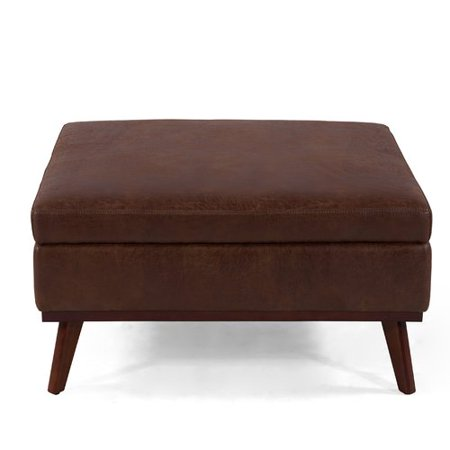 Phenomenal Ivy Bronx Mahar Storage Ottoman Machost Co Dining Chair Design Ideas Machostcouk