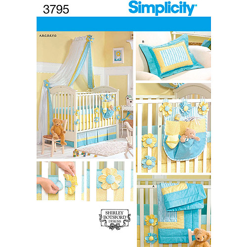 Simplicity Pattern Nursery Accessories