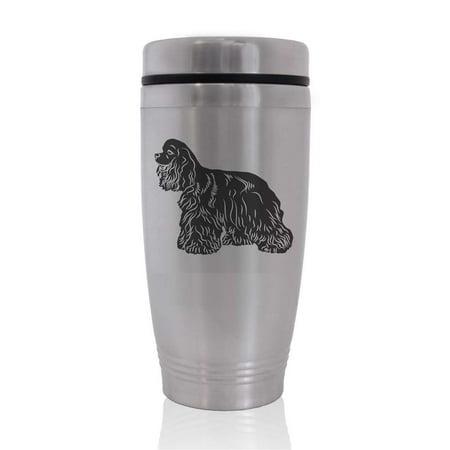 Commuter Travel Coffee Mug - Cocker Spaniel Dog Cocker Spaniel Mug Dog