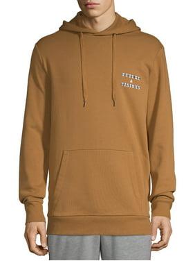 No Boundaries Men's and Big Men's Fleece Long-sleeve Hoodie, up to Size 5XL