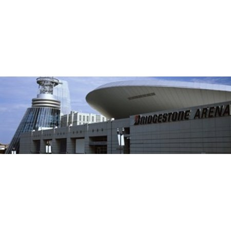 Buildings in a city Bridgestone Arena Nashville Tennessee USA Canvas Art - Panoramic Images (18 x 6) (Party City In Nashville Tennessee)