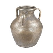 "Guildmaster 2100-014 10"" Tall Metal Water Jug Vase - Naturally Aged"