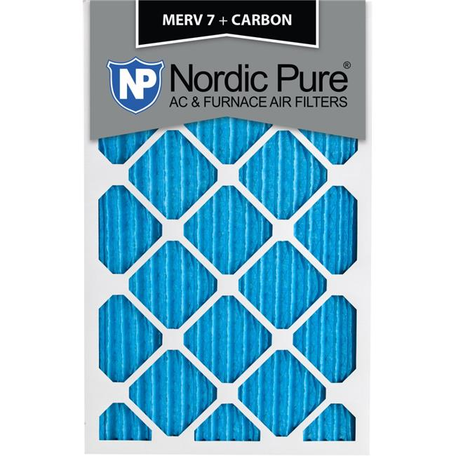 Nordic Pure 24x36x1 Exact MERV 11 Pleated AC Furnace Air Filters 1 Pack