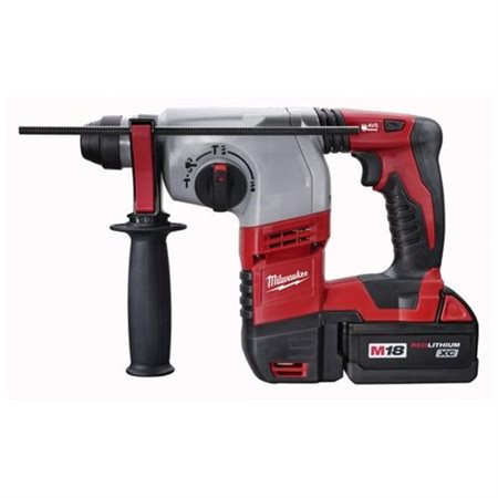 Milwaukee 2605-22 M18 18-Volt Cordless Lithium-Ion 7/8-inch SDS Plus Rotary Hammer Kit 24v Cordless Sds Hammer