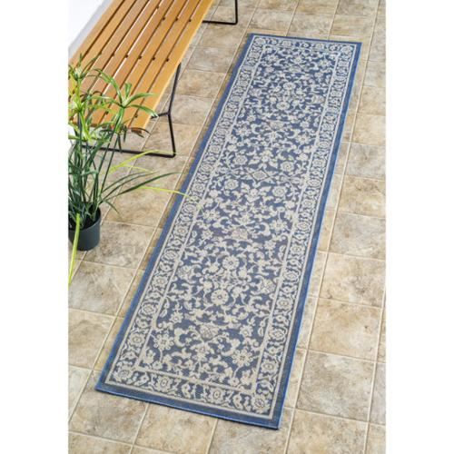 Nuloom Traditional Modern Indoor Outdoor Blue Porch