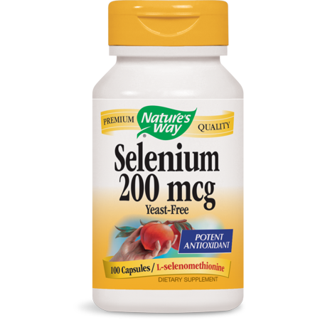 Nature's Way Selenium 200 mcg, 100 Ct