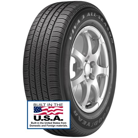 Goodyear Viva 3 P215/55R17 94V B (4 Ply) BW (Best Tires For Your Car)