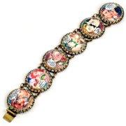 Sweet Romance Swet Romance Comics Pinup Cartoon Pulp Fiction Vintage Retro Bracelet