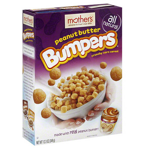 Mother's Peanut Butter Bumpers Crunchy Corn Cereal, 12.3 oz, (Pack of 7)